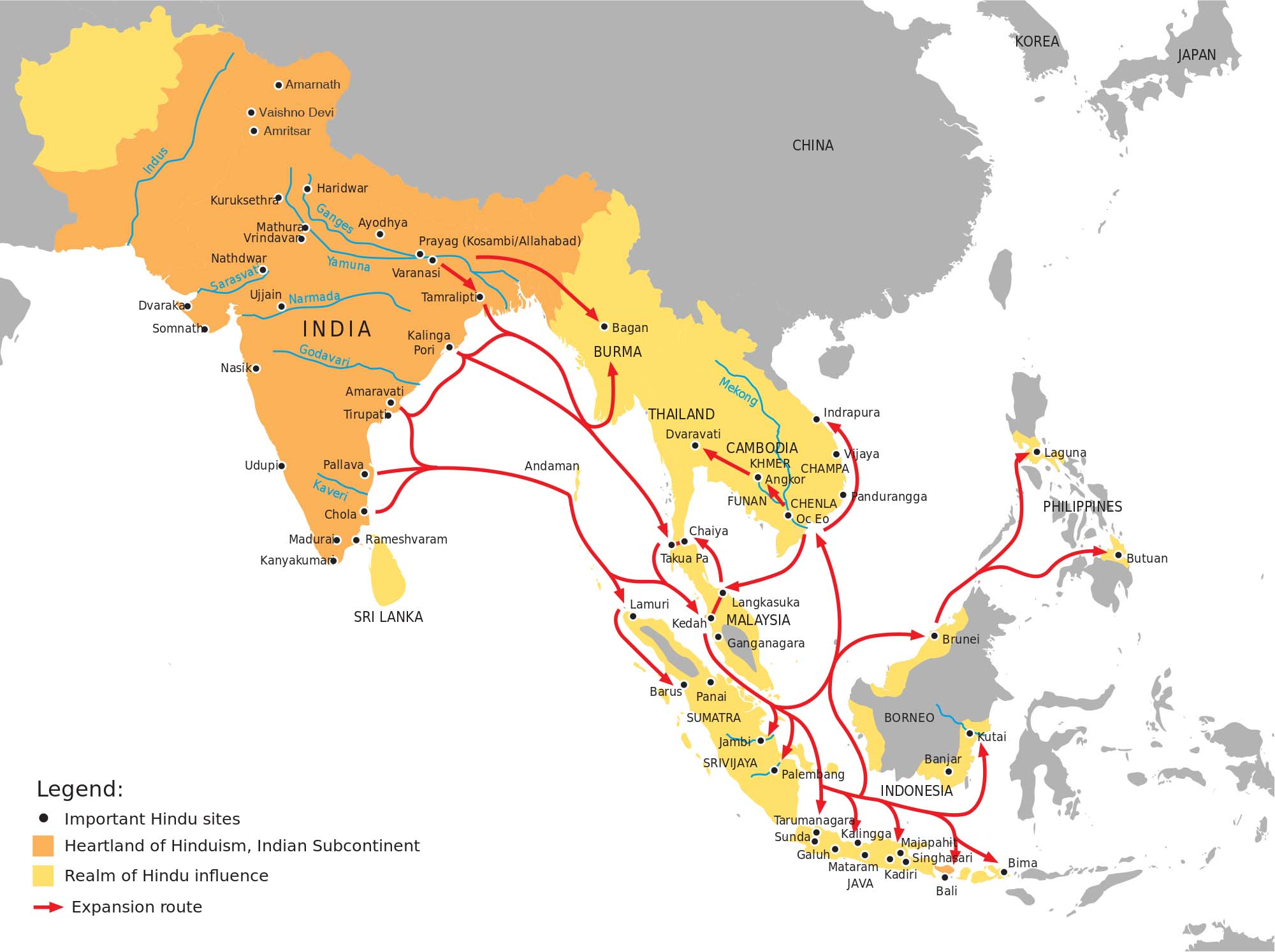 India's Civilizational Ties: The Key to a Strong Asia-Pacific ... on world map with countries, map of canada, map of taiwan, map of israel, map of africa, map of ukraine, map of middle east, map of world countries, map of thailand, map of united states, map of european, map of alaska, map of mediterranean countries, map of eastern countries, map of norway, map of europe, map of asia, map of cambodia,
